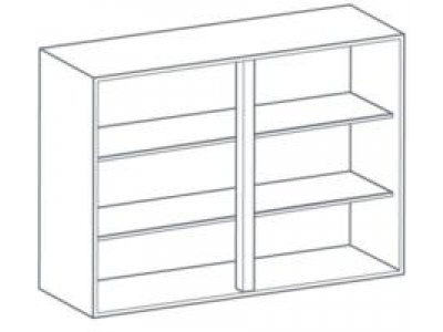 1000mm Medium Wall Unit
