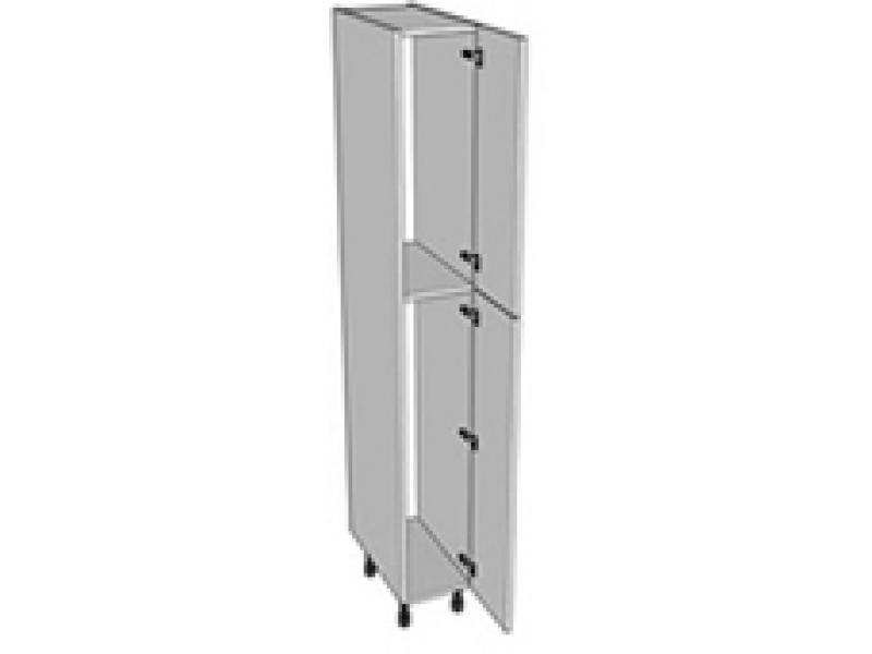 300mm tall 2150 broom 2 shelves bolton trade kitchens for 300mm tall kitchen unit
